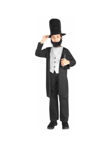 Childs Abraham Lincoln Costume-COSTUMEISH