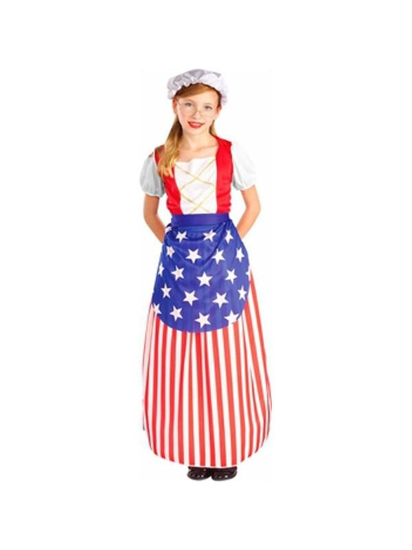 Childs Betsy Ross Dress Costume-COSTUMEISH