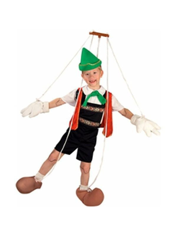 Childs Pinocchio Costume-COSTUMEISH