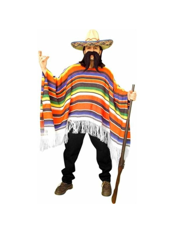 Adult Mexican Serape Costume-COSTUMEISH