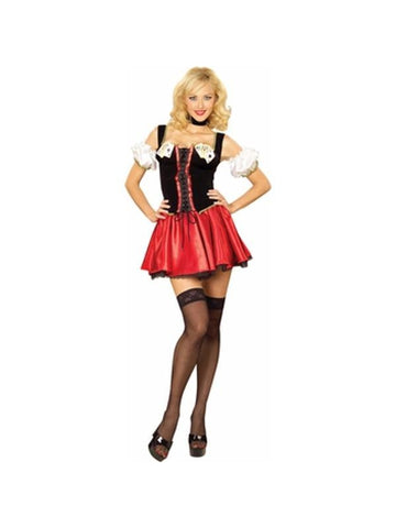 Adult Sexy Playing Cards Girl Costume-COSTUMEISH