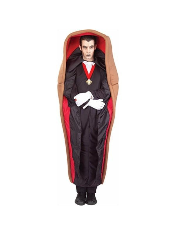 Adult Dracula In Coffin Costume-COSTUMEISH