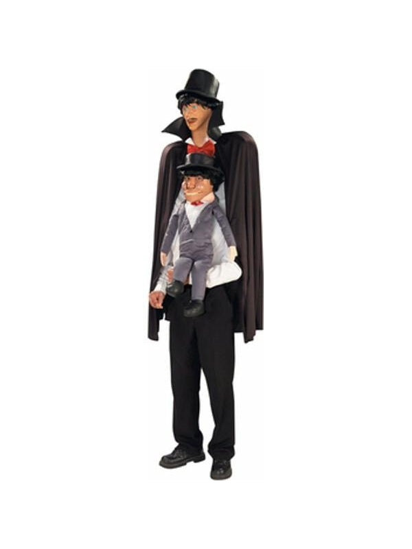 Adult Ventriloquist Dummy Costume-COSTUMEISH