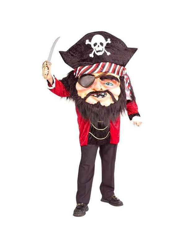 Adult Funny Oversized Pirate Costume-COSTUMEISH