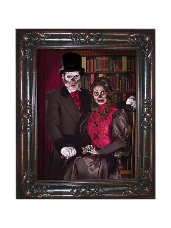 Couple Haunted Picture Frame-COSTUMEISH
