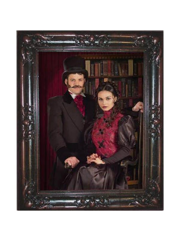 Couple Haunted Picture Frame