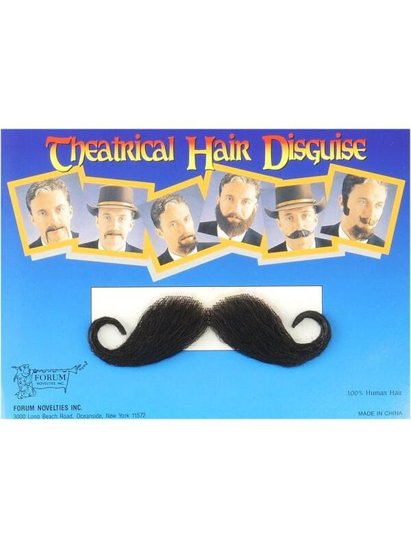 Adult Handle Bar Costume Moustache-COSTUMEISH