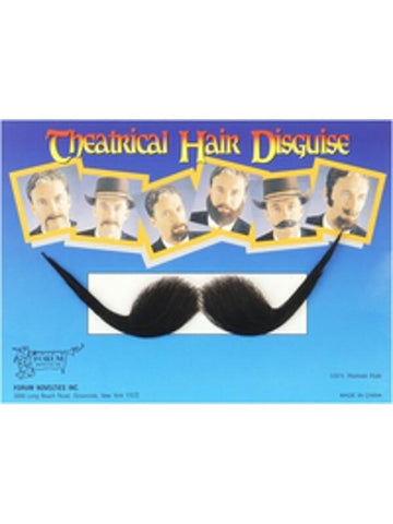 Adult Gentlemen's Costume Moustache-COSTUMEISH