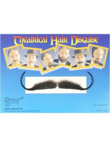 Adult Snidely Costume Moustache-COSTUMEISH
