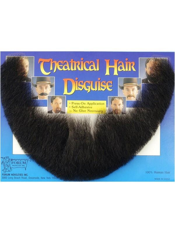 Adult Full Beard Costume Hair-COSTUMEISH