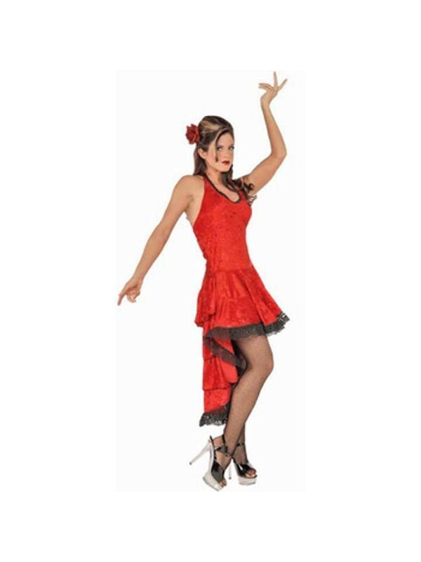 Adult Deluxe Flamenco Dancer Costume-COSTUMEISH