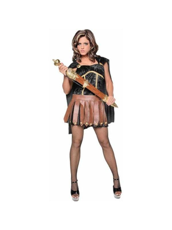 Adult Sexy Roman Gladiator Costume-COSTUMEISH