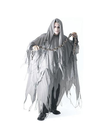 Adult Grey Ghost Costume