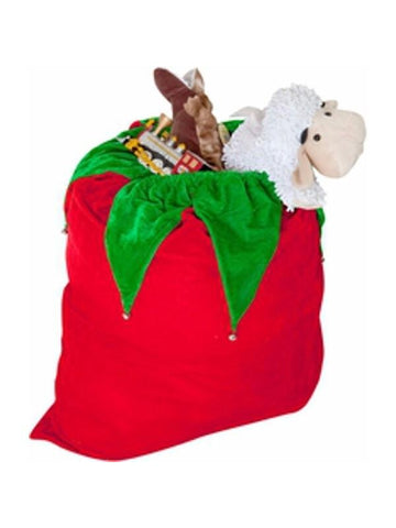 Santa Bag with Bells