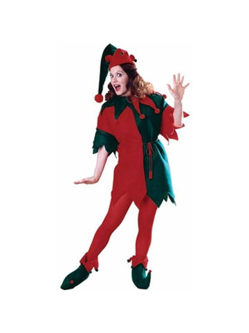 Adult Women's Christmas Elf Costume