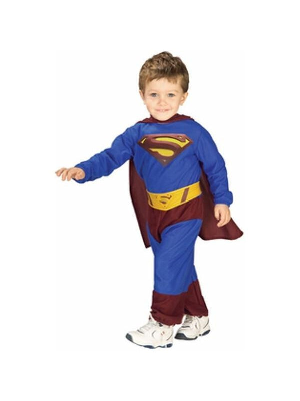 Toddler Superman Returns Costume-COSTUMEISH