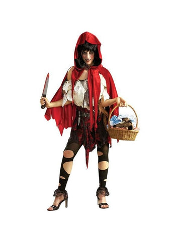Adult Little Dead Riding Hood Costume-COSTUMEISH