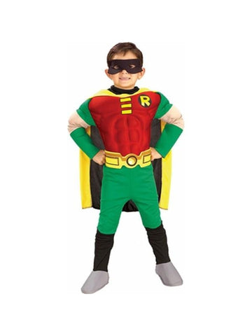 Child's Deluxe Muscle Chest Robin Costume
