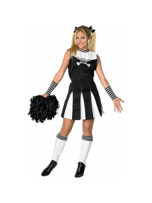 Teen Bad Spirit Cheerleader Costume-COSTUMEISH