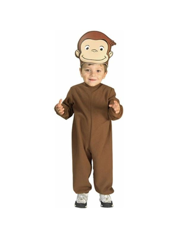 Toddler Curious George Costume-COSTUMEISH