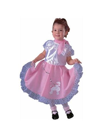 Toddler Sock Hop Costume