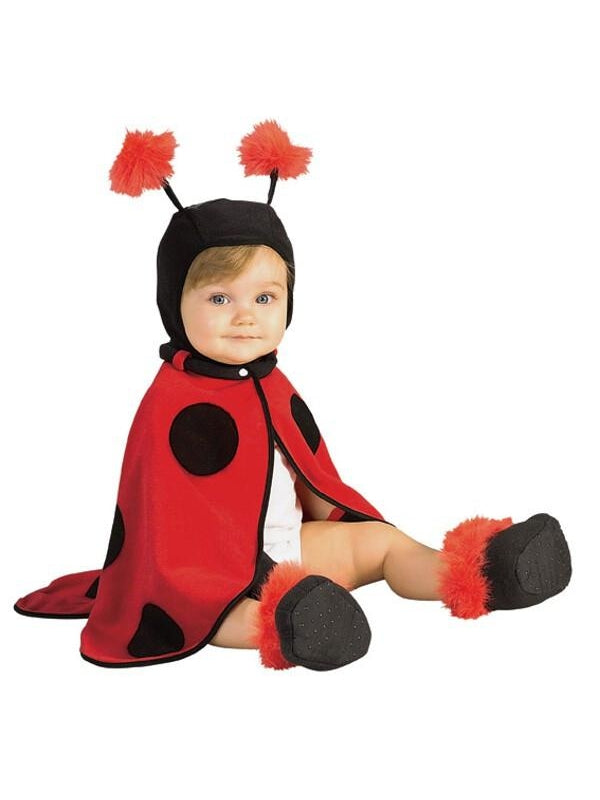Baby Lady Bug Cape Costume-COSTUMEISH