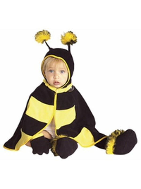 Baby Bumble Bee Cape Costume-COSTUMEISH