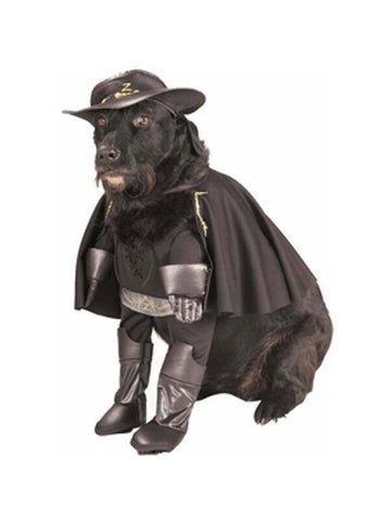 Deluxe Zorro Dog Costume-COSTUMEISH