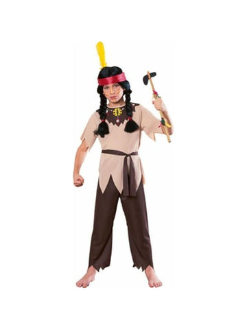 Child's Native American Warrior Costume-COSTUMEISH