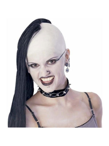 Gothic Wig and Bald Cap