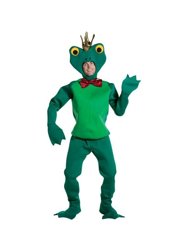 Adult Frog Prince Costume-COSTUMEISH