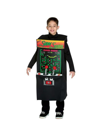 Child Arcade Game Costume-COSTUMEISH