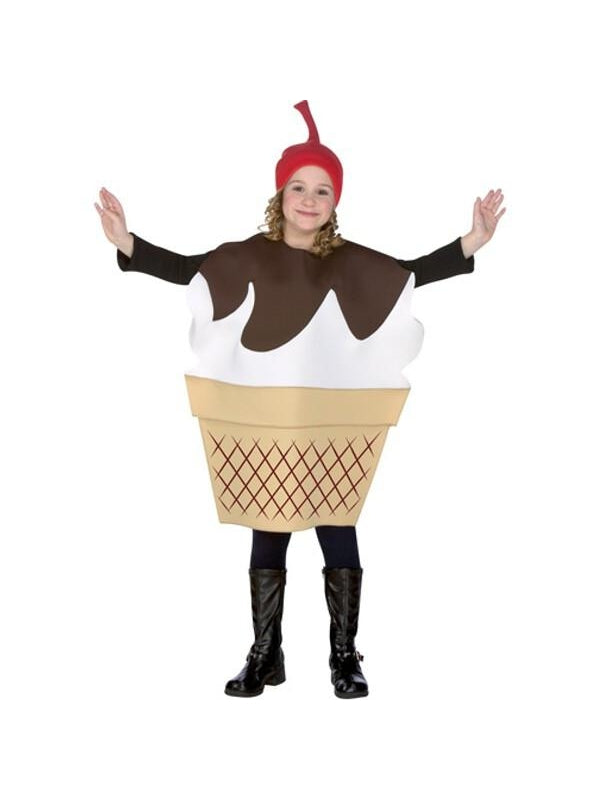 Child Ice Cream Sundae Costume-COSTUMEISH