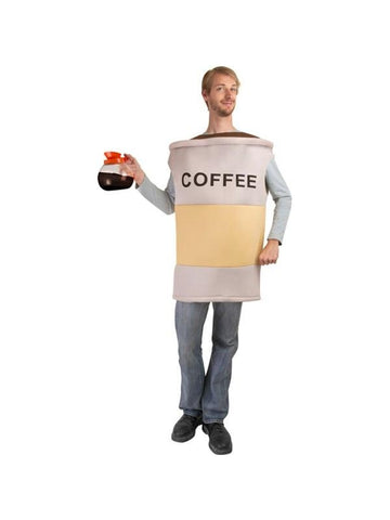 Adult Coffee Cup Costume-COSTUMEISH