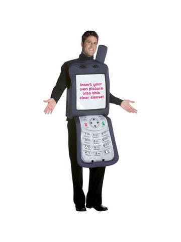 Adult Cell Phone Costume-COSTUMEISH