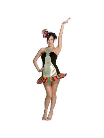 Adult Roulette Wheel Costume-COSTUMEISH