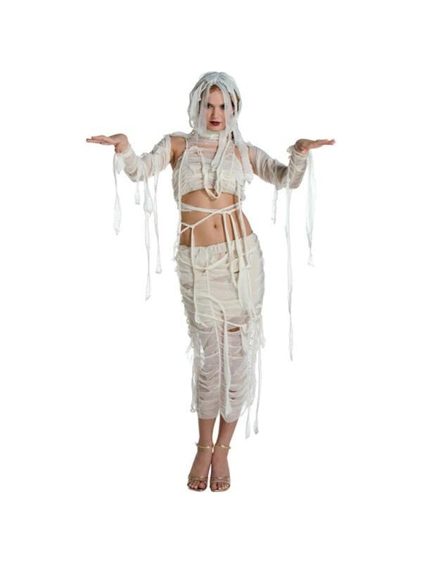 Adult Sexy Mummy Costume-COSTUMEISH