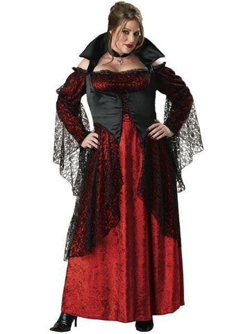 Adult Plus Size Vampiress Costume