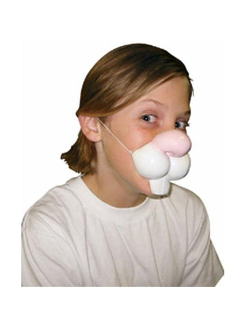 Child's Large Rabbit Nose-COSTUMEISH