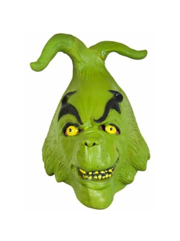 Adult Grinch Costume Mask-COSTUMEISH
