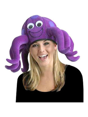 ... Purple Octopus Hat Funny Costume for Adults or Kids-COSTUMEISH  sc 1 st  Costumeish.com : kids octopus costume  - Germanpascual.Com