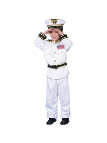 Child's Navy Costume