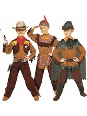 Childs Boys 3-in-1 Costume Set