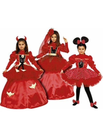 Childs Girl's 3-in-1 Costume Dress Set