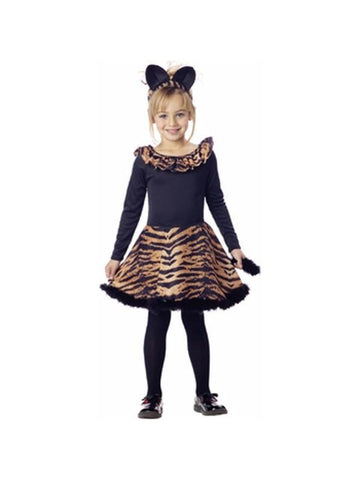 Child's Tiger Dress Costume-COSTUMEISH