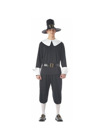 Adult Pilgrim Man Costume-COSTUMEISH