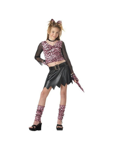 Child's Pink Leopard Dress Costume-COSTUMEISH