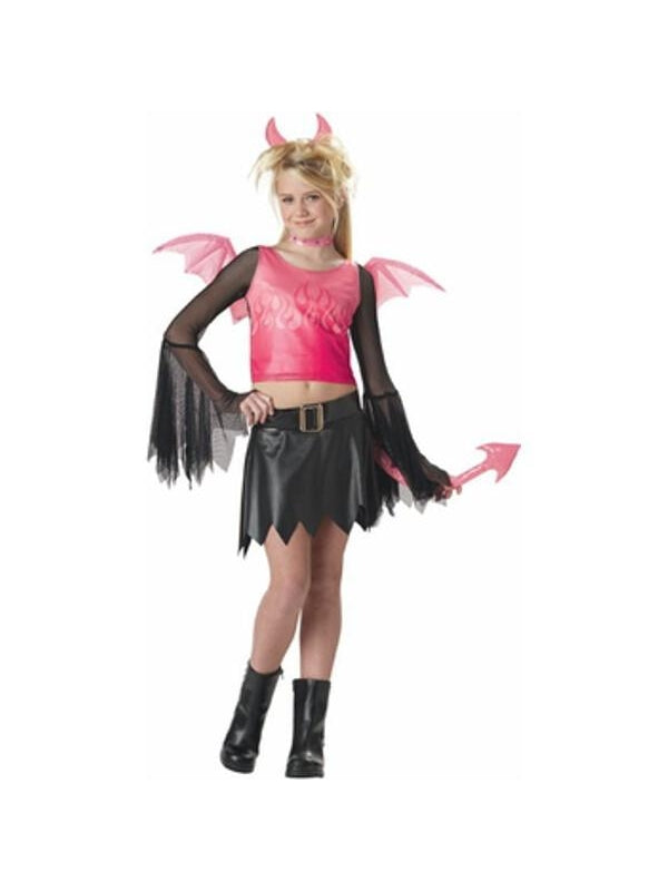 Child's Hot Devil Costume-COSTUMEISH