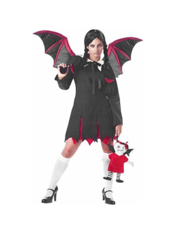 Teen Gothic Bat Girl Costume
