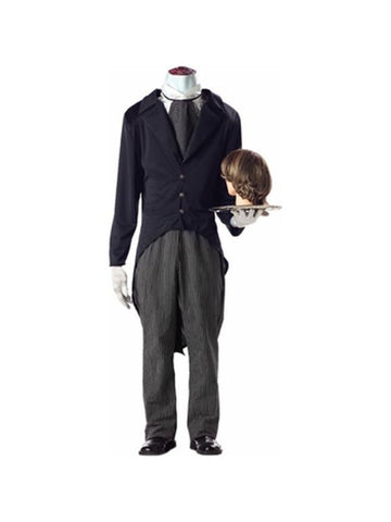 Adult Headless Butler Costume-COSTUMEISH
